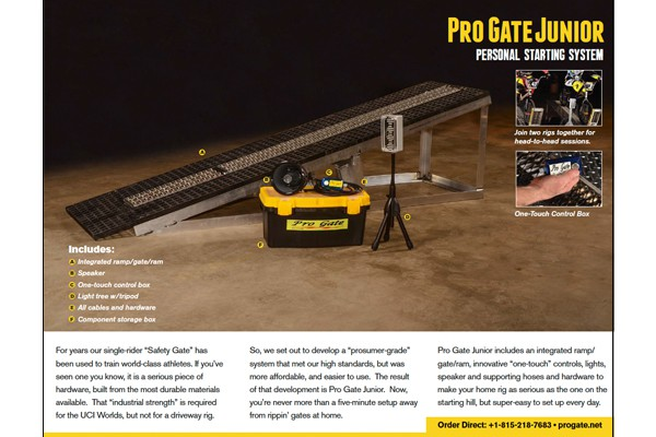Pro Gate Junior PDF Brochure