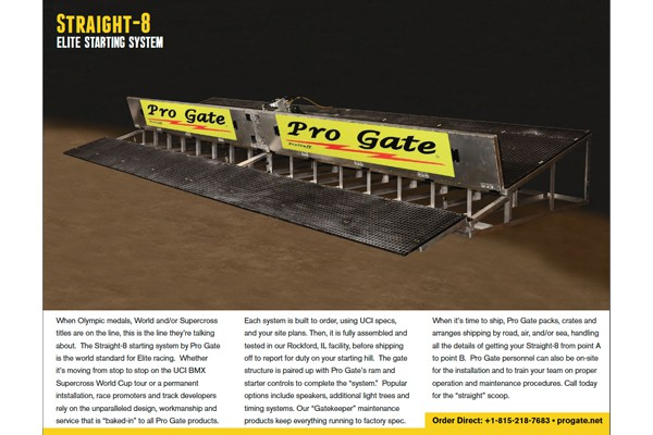 Pro Gate Straight-8 PDF Brochure