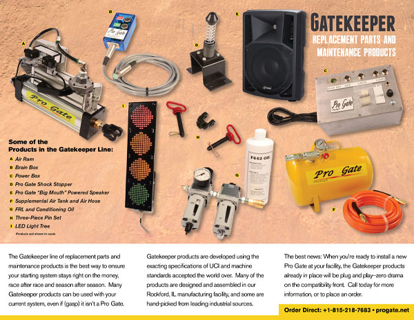 Pro Gate Gatekeeper Accessories Brochure