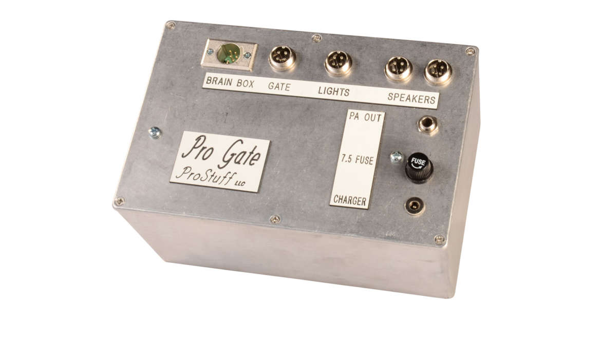 Pro Gate 3x 12-Volt BMX Starting Gate Control Box