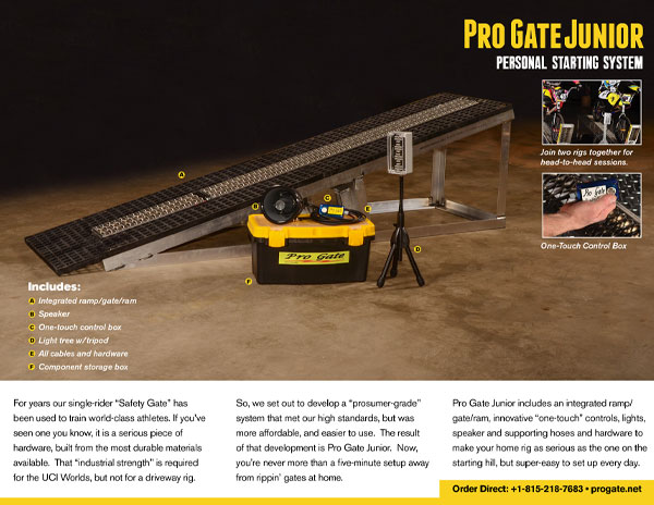 Pro Gate Junior Brochure