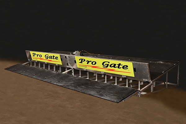 Pro Gate Straight-8 BMX Starting System