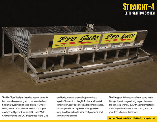 Pro Gate Straight-4 Brochure
