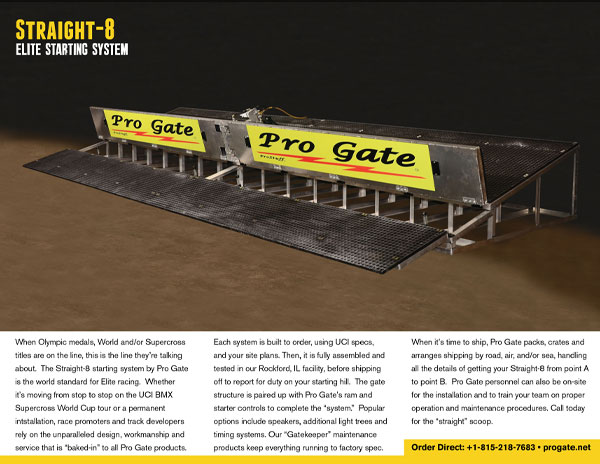 Pro Gate Straight-8 Brochure